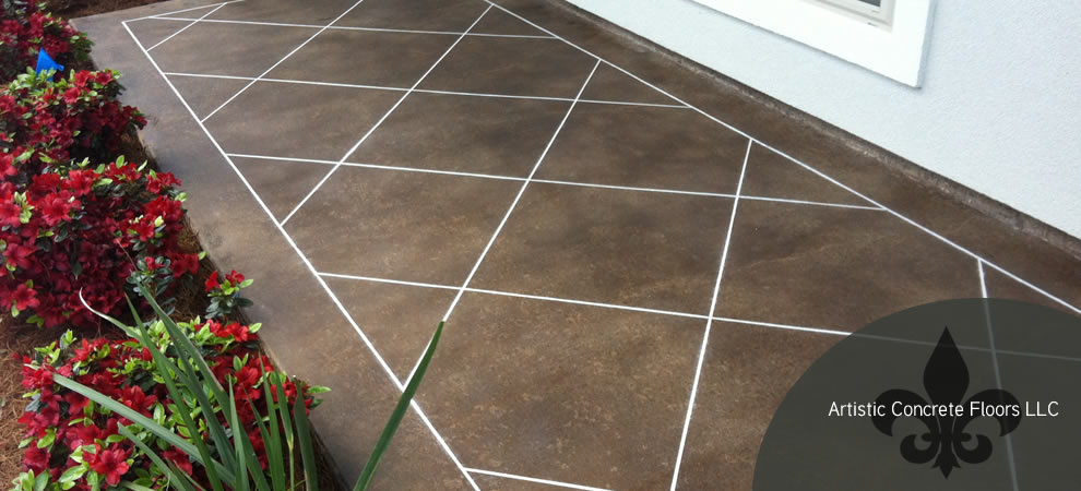 Artistic Concrete Flooring : Artistic concrete floors llc